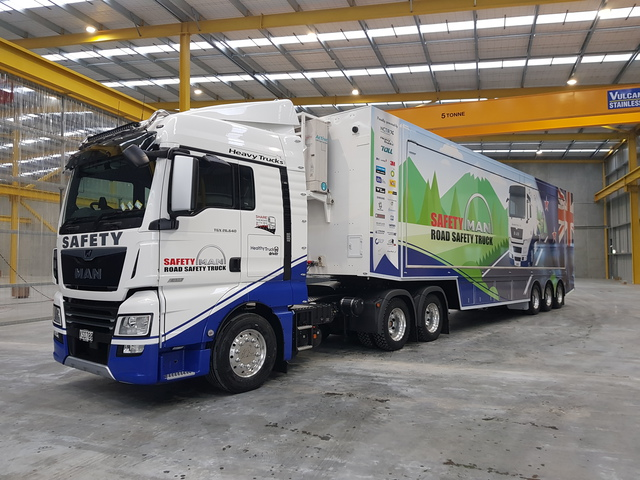 Road Users Meet Nz S Safest Truck