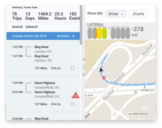 Vehicle Tracking Software Improves Driver Behavior Au2